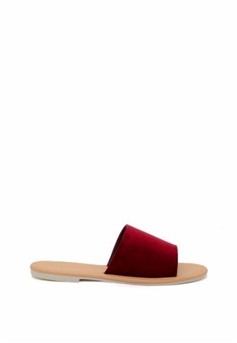 London Rag red Summer Slide Sandals E4E4ASH01D666CGS_1