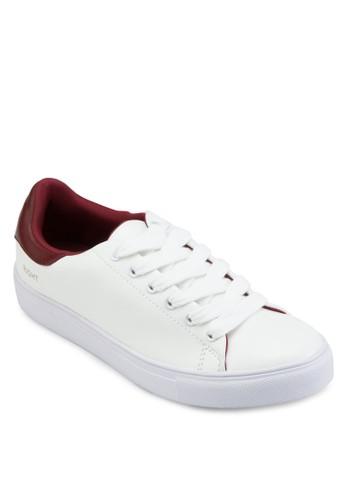 仿皮繫帶休閒鞋、 女鞋、 休閒鞋ZALORA仿皮繫帶休閒鞋最新折價