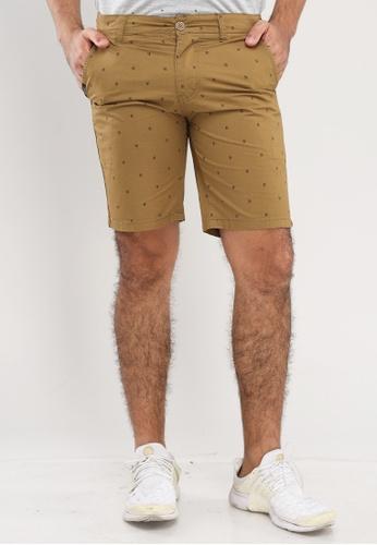 Bossini Men brown Slim Shorts 6D5A6AA68DBDDDGS_1