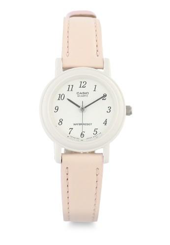 Casio pink Casio Jam Tangan Wanita - Peach White - Leather Strap - LQ-139L-4B2DF 6149FAC6A09340GS_1