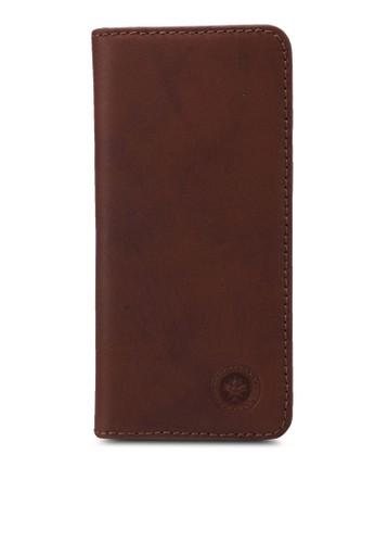 Lumberjacks brown Lumberjacks Genuine Leather Bi-Fold Long Wallet 10A77AC2A36B3CGS_1
