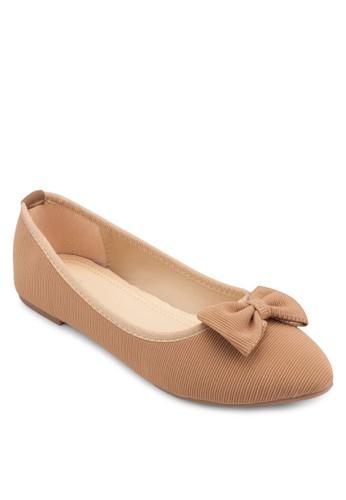 Coveesprit 衣服t 蝴蝶結平底鞋, 女鞋, 芭蕾平底鞋