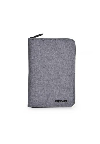 AGVA AGVA LTB328 RFID Passport Case (Grey) 331DCAC600FD24GS_1