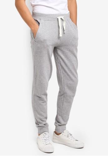 OVS grey Grey Fleece Bottoms D9E95AA9623031GS_1