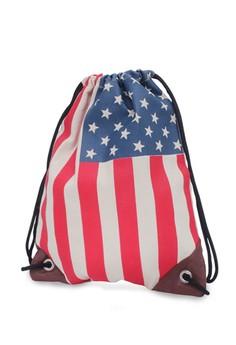 USA Weekender Drawstring Backpack