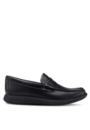Sperry black Kennedy Penny Loafers 841EFSHBB7C4BCGS_1