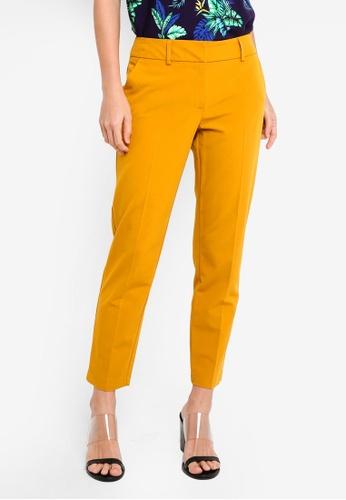 Dorothy Perkins orange Ochre Split Hem Ankle Grazer E91D4AA4DA156CGS_1