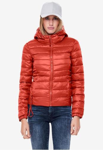 ONLY orange Tahoe Hood Jacket C27CAAA6CF5E6CGS_1