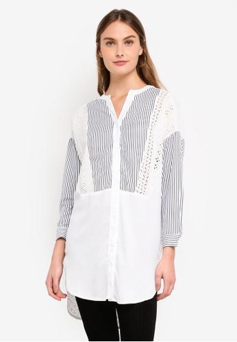 Haute Kelly white Hae-Won Shirt DE608AADEFB6DCGS_1