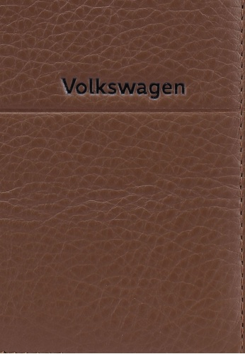 Volkswagen brown Long Leather Wallet 52E0EACB245542GS_1
