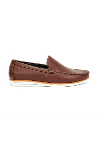 Cardam's Lifestyle brown Tanner Loafer Shoes 4905ESHF541562GS_1