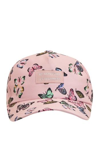 DeFacto pink Patterned Hat 3859CKCA314EF4GS_1
