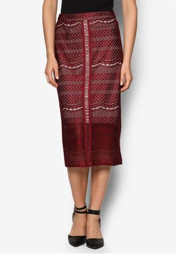 蕾絲及膝短裙, 服飾esprit分店地址, 裙子