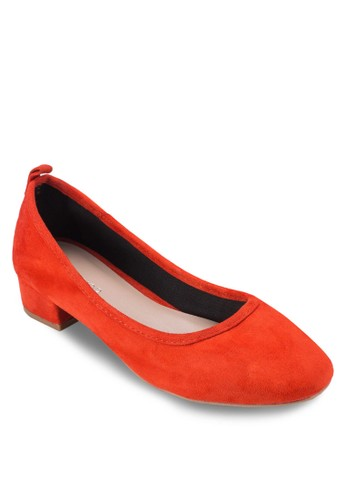 Avery 圓頭低跟esprit 品牌鞋, 女鞋, 鞋