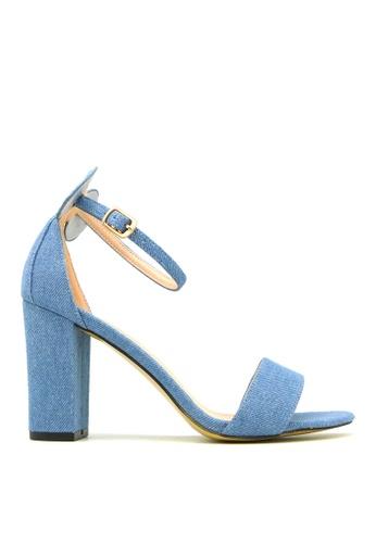 "Carlo Rino blue Carlo Rino 33340-A010-03 3.5""Ankle Strap Dress Sandals (Blue) 6BB70SH80C74E2GS_1"