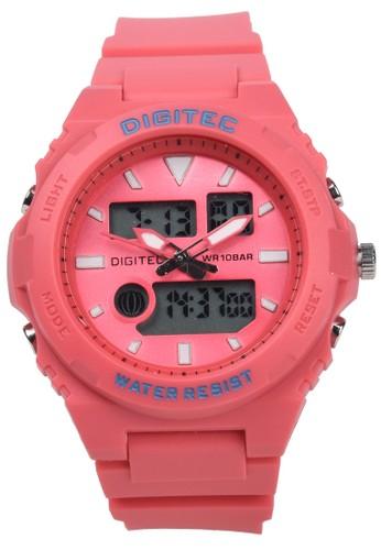DIGITEC pink Digitec - Jam Tangan Wanita - Pink - Resin Strap - DG3095-E 4E337ACF2F2CB9GS_1