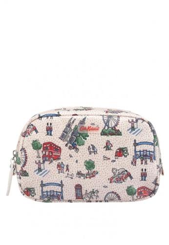 Cath Kidston Pink Small London Spots Classic Box Cosmetic Bag 47770ac587b261gs 1