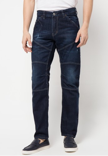 Watchout! Jeans Tuppered Jeans Pants 878