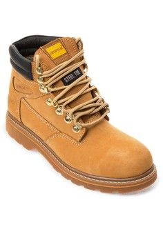 Steel-toe Lace-up Boots