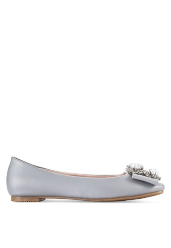 Sunnydaysweety grey 2018 New Simple Ballet Flats A0209GY 6C1D1SH2CB0891GS_1