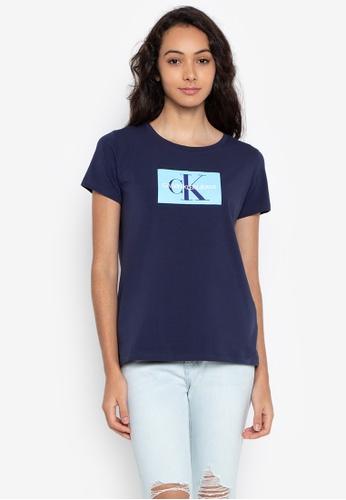 Shop Calvin Klein Monogram Box Logo Tee Online on ZALORA Philippines ff89f0fc9