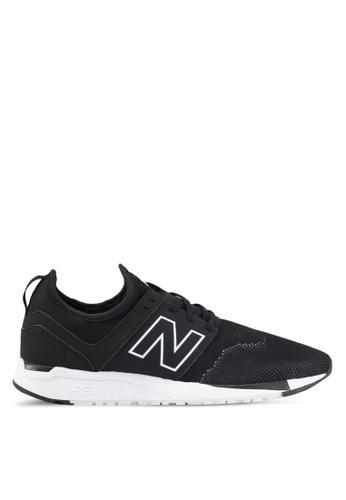 New Balance black 247 Lifestyle Sneakers NE323SH0SXNIMY_1