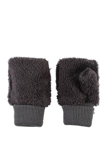 niko and ... grey Hand Warmer Half Gloves 11DE2ACC460EADGS_1
