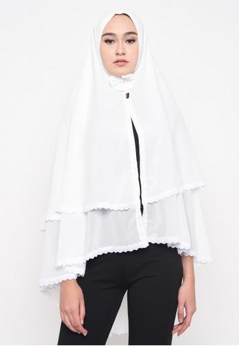 Java Seven Muslimwear white Hudaibia White 34D66AA85E3B64GS_1