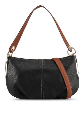 Perllini&Mel black Faux Leather Shoulder Bag 3505DAC37A414DGS_1
