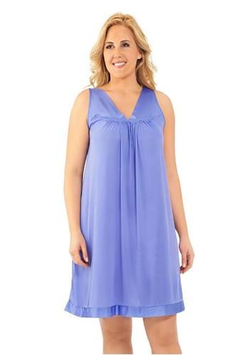Naturana Sleeveless short gown Plus 3F8F8AAE8B3DA6GS_1
