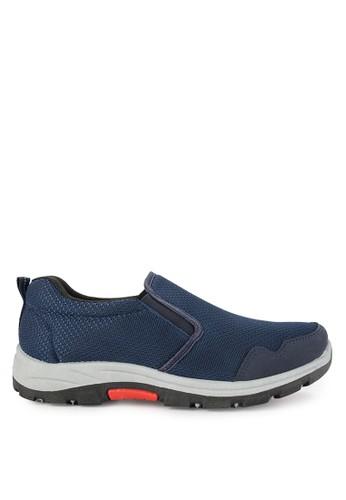 Declan navy Falco Slip On Sneakers 19AB6SH01EC970GS_1