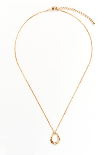We Enjoy Simplicity gold Hollow Sun Necklace 16F2EACF44FEDAGS_1