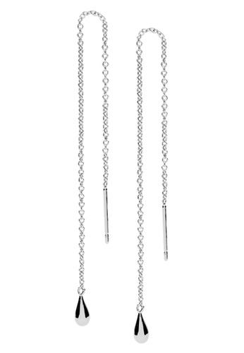 Dear Addison silver Raindrop Earrings D4E9EACC584ED4GS_1