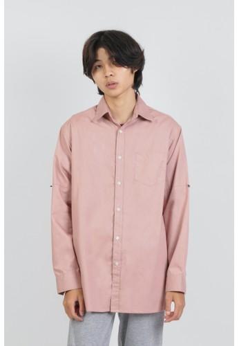 DUE/E pink Reggie Shirt in Dusk 6D2C0AA6780E9EGS_1