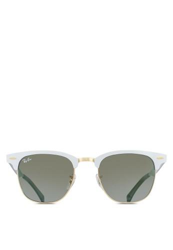 Clubmaster 鋁製太陽esprit招聘眼鏡, 飾品配件, 飾品配件