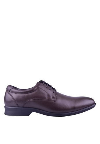 Hush Puppies brown Hush Puppies Vidor Lace Up In Brown 14672SH0BDFCC5GS_1