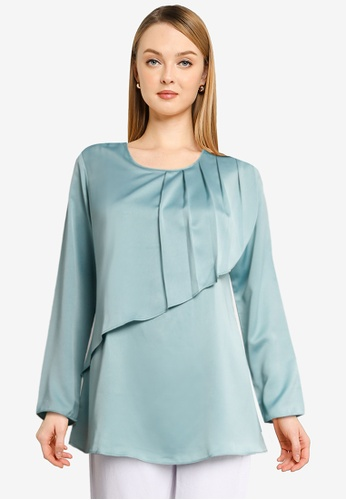 Aqeela Muslimah Wear blue Nursing Basic Top DCAA9AAB00771FGS_1