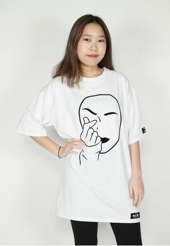 NOOB white Kaos ❤ Putih 58B81AA7AF844EGS_1