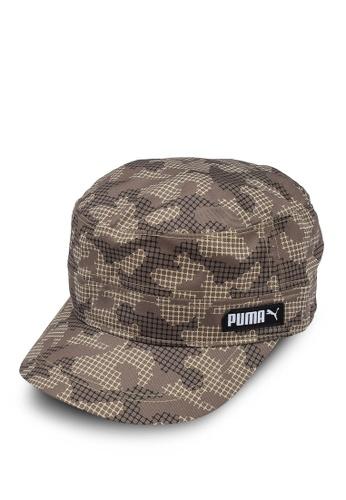 PUMA beige Military Cap 45D00AC424257FGS_1