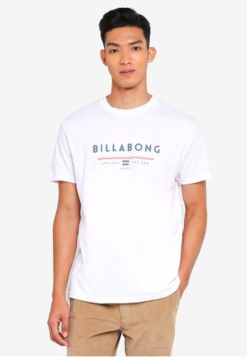 Billabong 白色 短袖印花T恤 B021BAAB268889GS_1