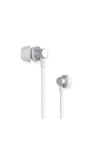 Stylebox silver Remax RM-512 Metal Wired Music Earphone 0E882ACABEDC12GS_1
