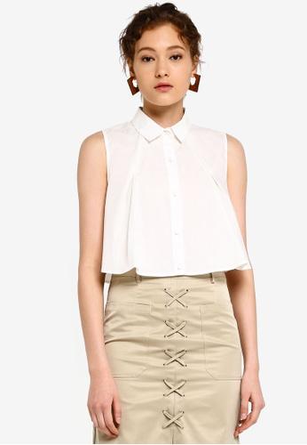 5dd7a1ac8fb Buy Glamorous Sleeveless A-Line Shirt Online on ZALORA Singapore
