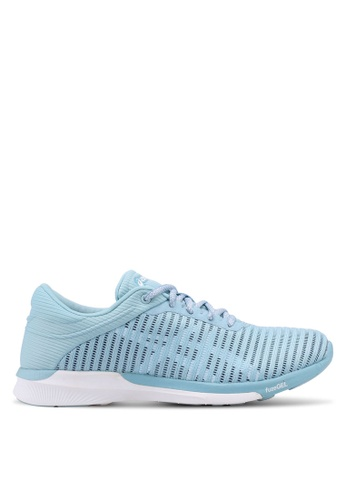 Asics blue Fuzex Rush Adapt Shoes AS989SH0SVT6MY_1