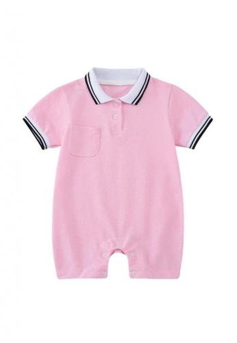 RAISING LITTLE pink Oscare Romper EBEFDKA59D0B2BGS_1