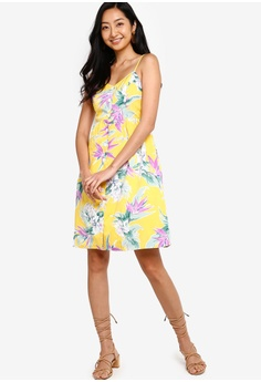 51eab4e952 13% OFF Something Borrowed Button Down Fit & Flare Dress S$ 39.90 NOW S$  34.90 Sizes XS S M L XL