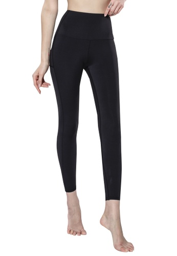 HAPPY FRIDAYS Autumn Winter High Rise Hip Sports Tights QF2201 D395CAA0F26755GS_1