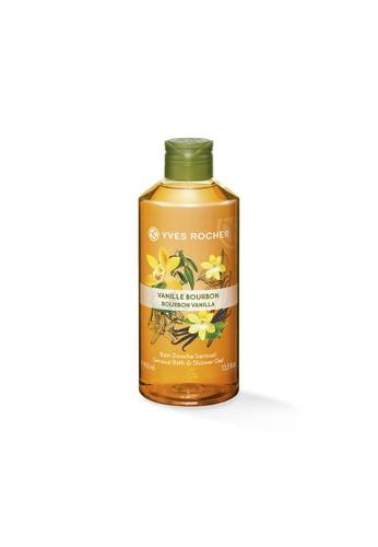 Yves Rocher orange Sensual Bourbon Vanilla Bath Shower Gel 400ml YV460BE13ODISG_1