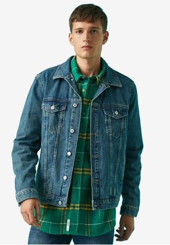 KOTON blue Denim Jacket ABB7EAA7ACAACBGS_1