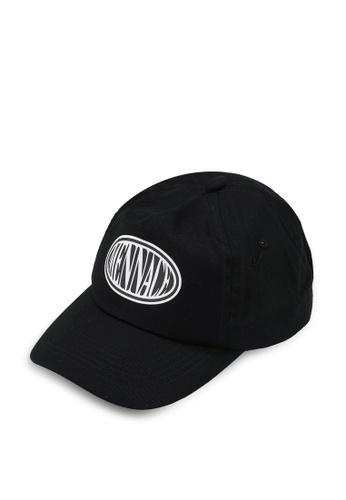 Mennace black Oval Logo Cap 67CEEAC5F6DBFBGS_1