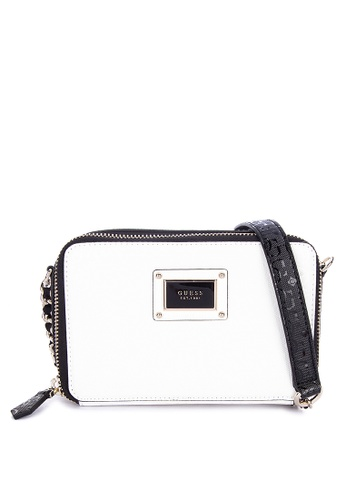 036112e493 Shop Guess  Shannon Mini Crossbody Bag Online on ZALORA Philippines